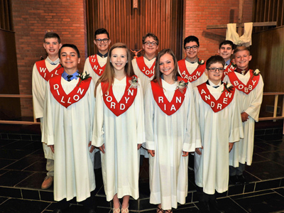 Zion Confirmands May 2018