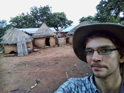 Michael Ersland in Ghana, West Africa